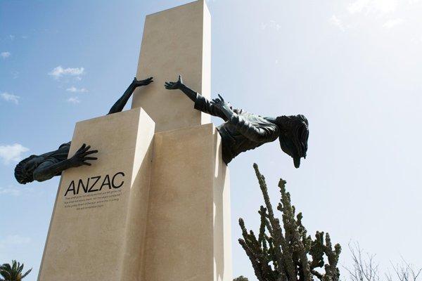 anzac monument argotti tuinen floriana dichtbij valletta
