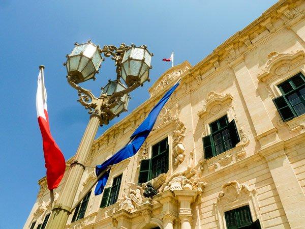 auberge de castille et portugal et de léon valletta hoofdstad malta