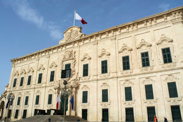 auberge de castille hoofdstad malta valletta