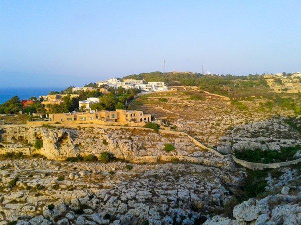 bezienswaardigheden malta victoria lines madliena gharghur malta