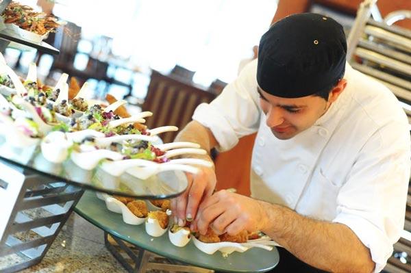 borrelhapjes spice island restaurant grand hotel excelsior malta