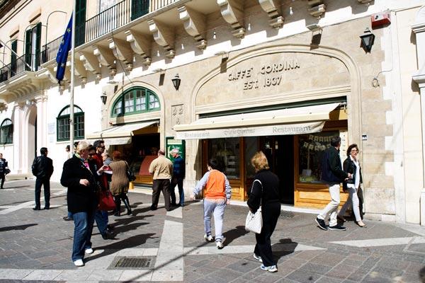 caffe cordina gevel valletta bezienswaardigheden malta