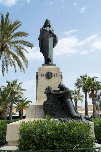 christus de koning monument mall tuinen floriana malta