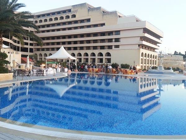 evenement in openlucht grand hotel excelsior valletta malta