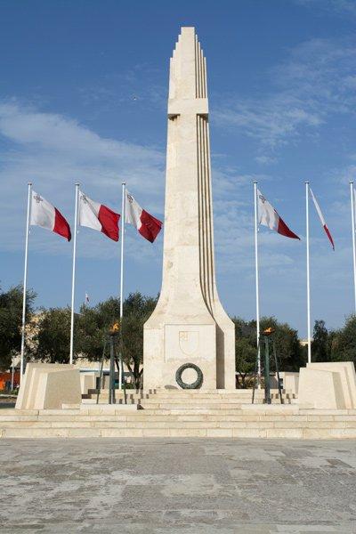 herdenkingsmonument oorlog floriana valletta malta