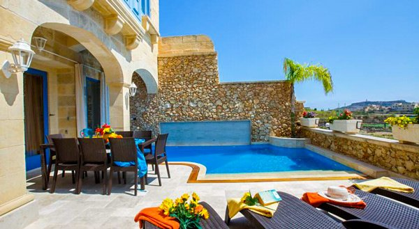 malta vakantiehuis carini farmhouses gozo