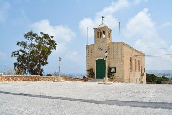 kapel van de moeder van genade naast het paleis van selmun in mellieha noorden van malta