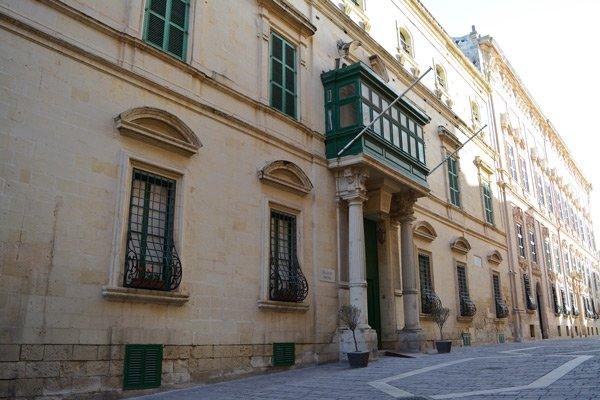 parisio paleis malta hoofdstad valletta