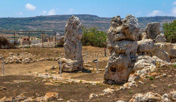 skorba restanten tempels noorden van malta