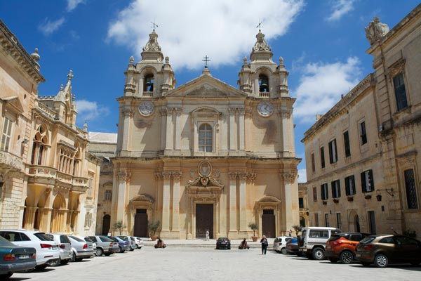 st paul's kathedraal mdina centraal malta