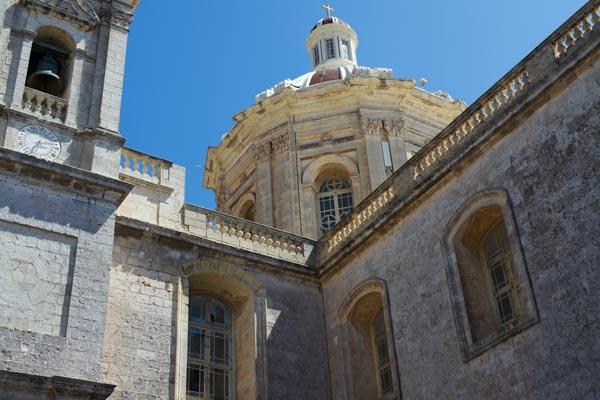 kerk van sint paulis detailfoto rabat centraal malta