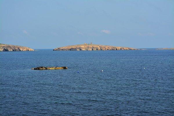st pauls island st pauls bay noorden van malta