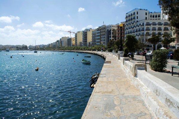 the strand boulevard sliema malta