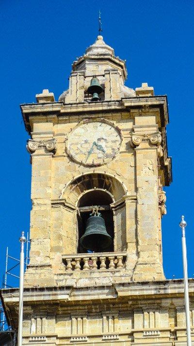 toren van kerk van onbevlekte ontvangenis van maria cospicua the three cities