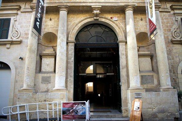 valletta bezienswaardigheden nationaal museum van archeologie