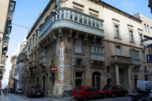 valletta hoofdstad malta manoel theater