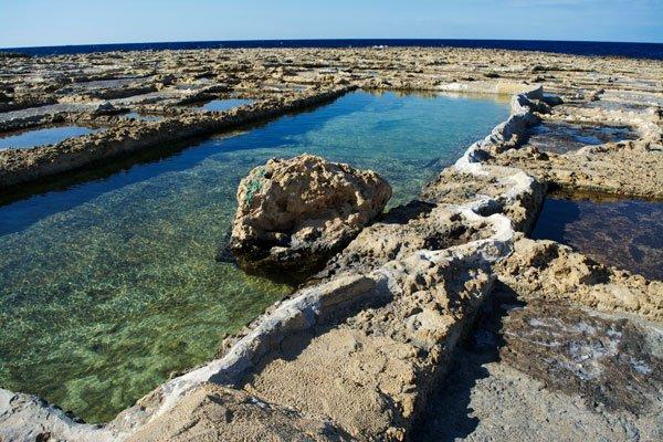 zoutpannen qbajjar gozo eiland malta