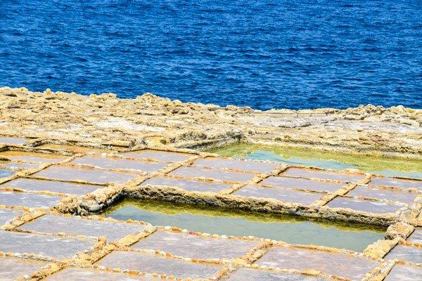 zoutpannen xwejni gozo eiland newmalta