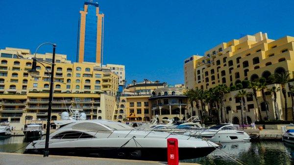 jachthaven van portomaso malta st julians