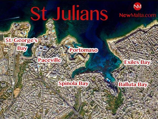 satelliet regio malta st julians