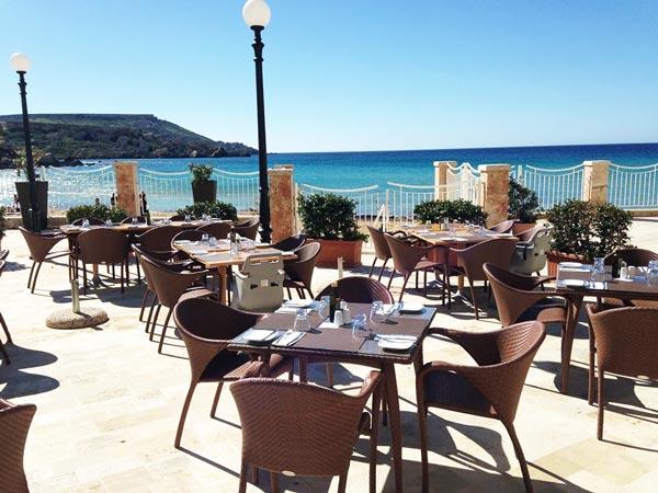 agliolio restaurant terras radisson blu resort and spa malta golden sands