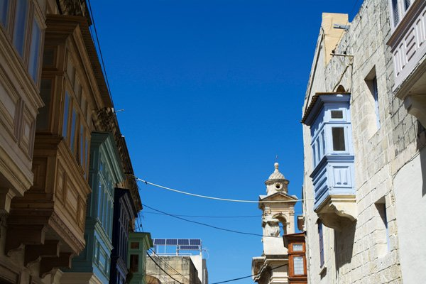 algemeen straatbeeld rabat centraal malta