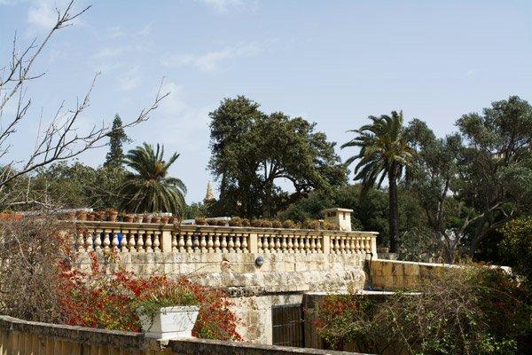 argotti botanische tuinen floriana nabij valletta