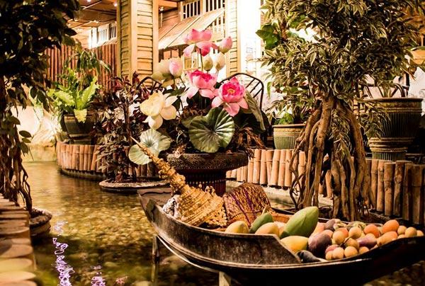 aziatische kruiden en groenten blue elephant restaurant hilton malta hotel