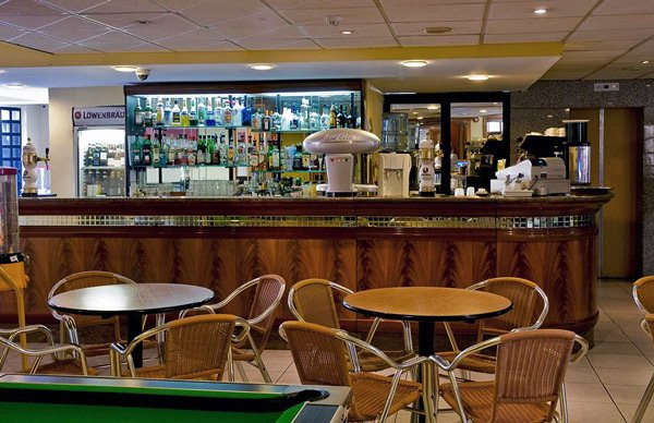 bar in café au lait cafetaria canifor hotel malta