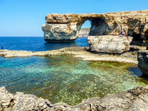 blauwe raam azure window verdwenen dwejra azure window