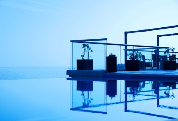 buitenzwembad dak the palace hotel malta