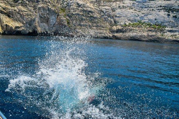 duik vanaf boot dwejra bay 4 gozo bezienswaardigheden