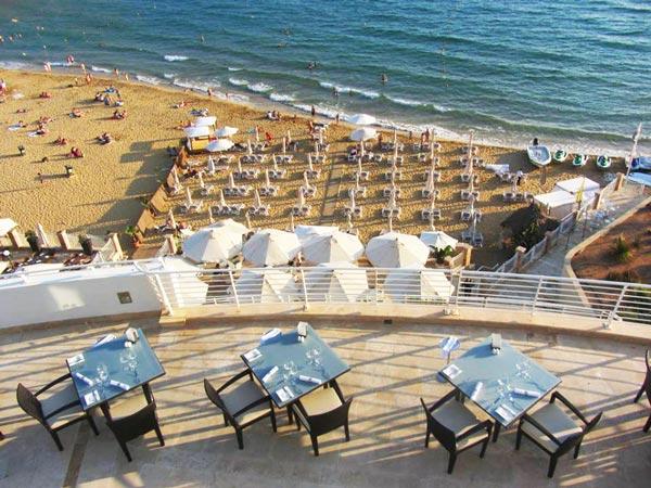 essence restaurant terras radisson blu malta golden sands
