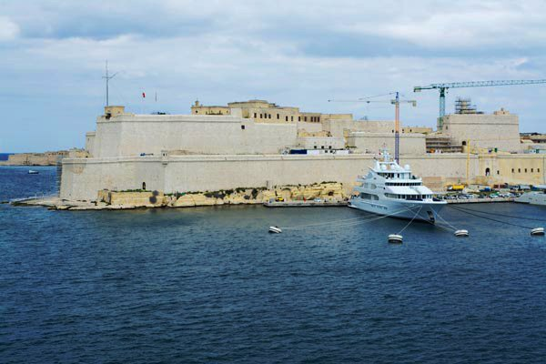 fort st angelo vittoriosa birgu the three cities malta