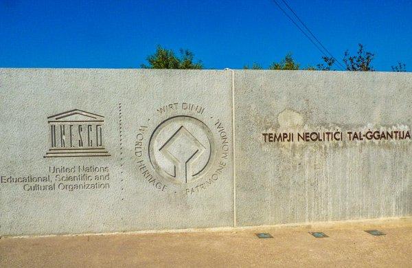 ggantija tempels in xaghra unesco werelderfgoed gozo eiland
