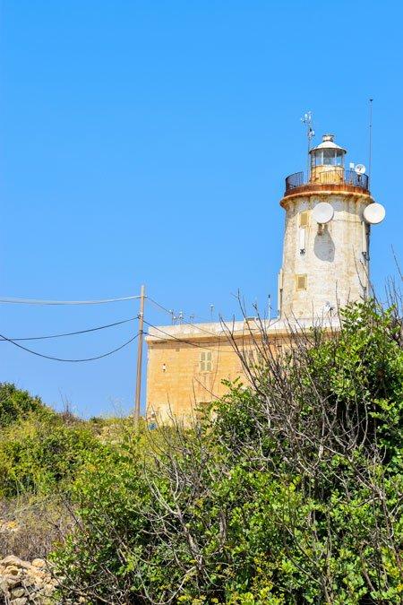 giordan vuurtoren ghasri gozo eiland