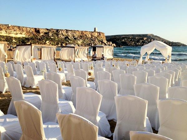 golden bay huwelijk radisson blu golden sands malta