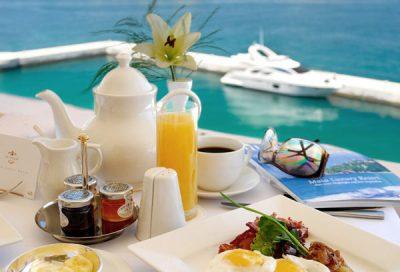 grand hotel excelsior malta ontbijt met zeezicht valletta