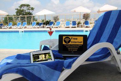 gratis internet hotel phoenicia malta