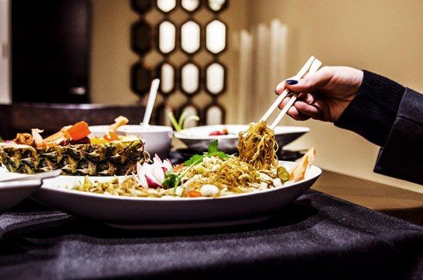 heerlijk aziatisch gerecht temptasian restaurant the palace hotel malta