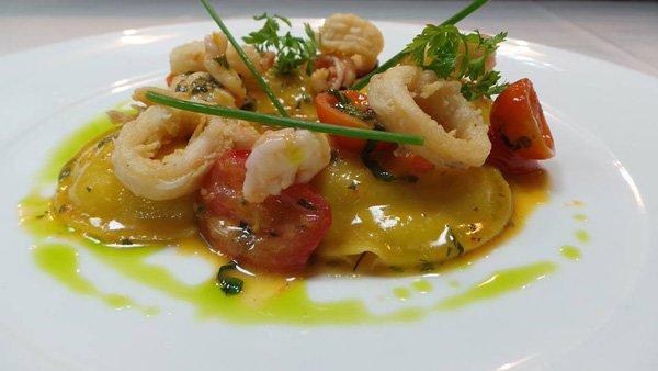 heerlijk diner in bottega del vino restaurant hilton malta hotel