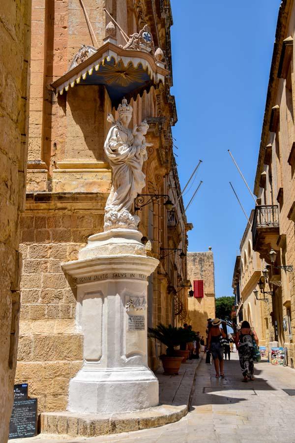 heilige maagd maria carmelite kerk mdina malta