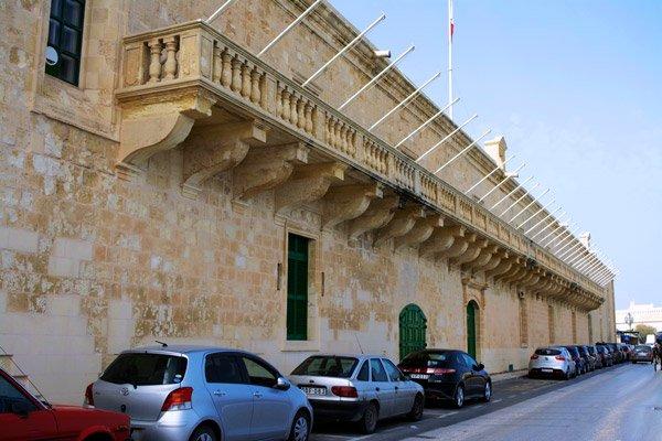 heilig ziekenhuis of sacra infermeria valletta hoofdstad malta