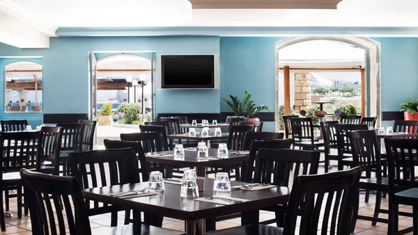 interieur palios restaurant westin dragonara malta