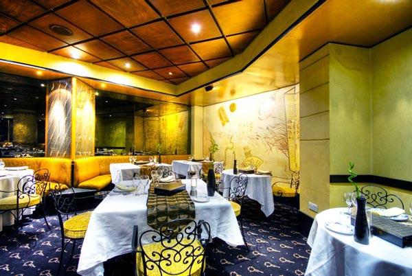 interieur rickshaw oriental restaurant corinthia palace hotel & spa malta
