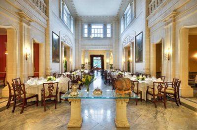 interieur villa corinthia restaurant corinthia palace hotel and spa malta