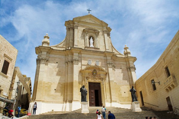 kathedraal citadel victoria gozo eiland malta