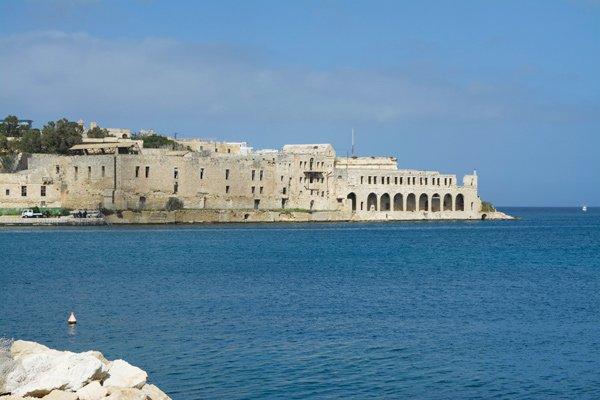 lazaretto hospital manoel island nabij sliema malta