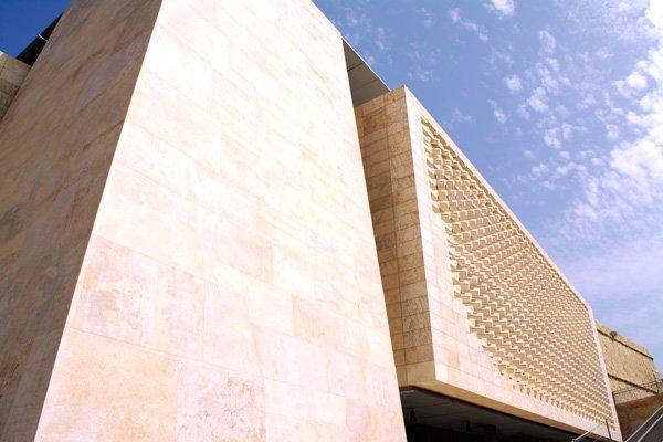 nieuw parlementsgebouw hoofdstad malta valletta
