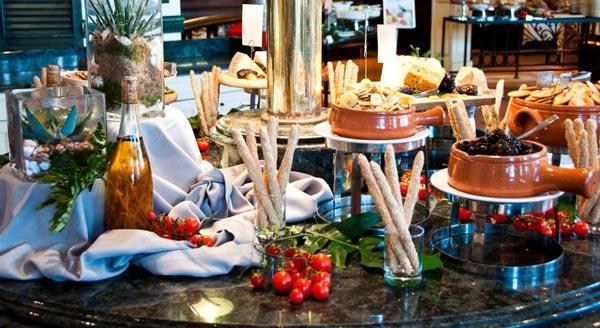 oceana restaurant heerlijk buffet hilton hotel malta